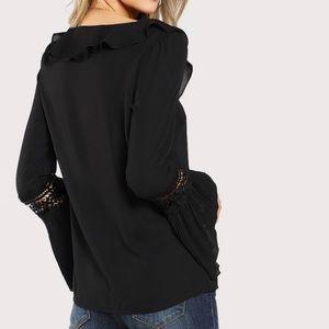 Tops - Dressy Black shirt